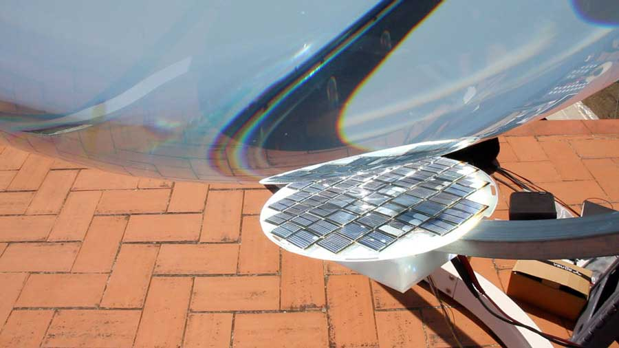 beta ray generatore solare sferico relab energie
