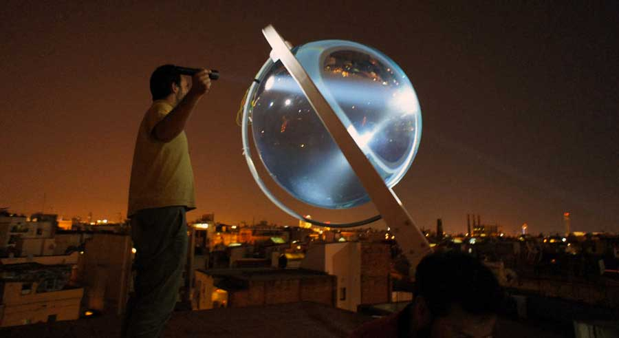 beta ray generatore solare sferico relabenergie