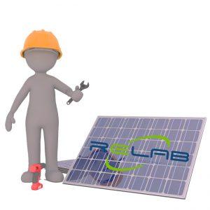 fotovoltaico Avellino pannelli solari Relab manutenzione pulizia